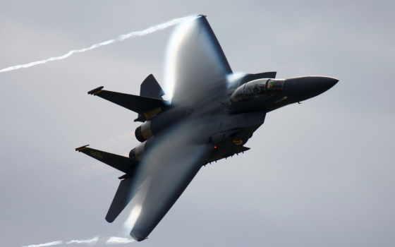 самолёт, орлан, effect, глоерта, прандтля, mcdonnell, авиация, douglas, военный, истребитель, плакат,