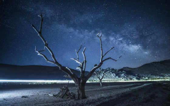 путь, млечный, ночь, landscape, космос, full, photos,