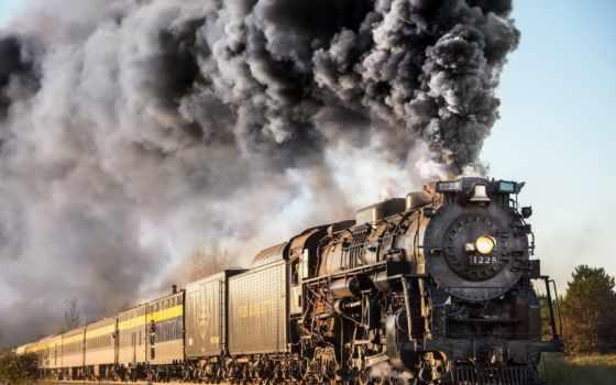 marquette, pere, steam, локомотив, железная, дорога, железный,