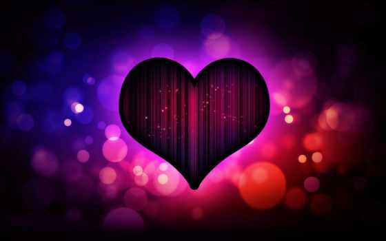 сердце, love, красивые, purple, amino, фоны, dark, сердце, разное,