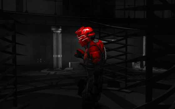 darkness,action-adventure game, красный, компьютерная игра, темнота, digital compositing, dead space 2, isaac clarke
