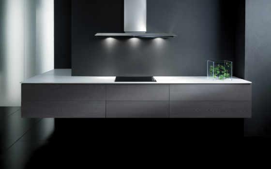 кухня, минимализм, интерьер