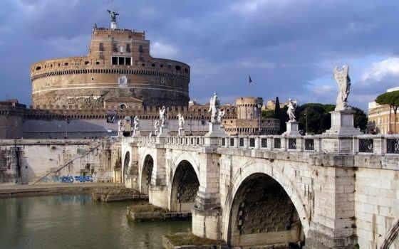 roma, olaszország, angyalvár, peter, города, замки,
