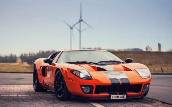 ford, оранжевый