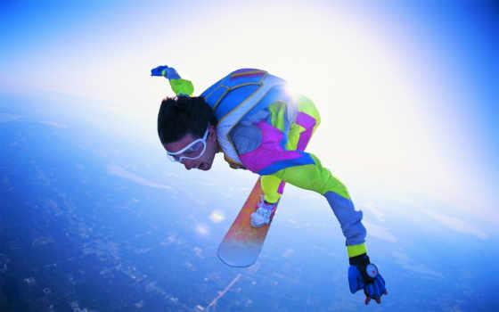 прыжок, пасть, свободное