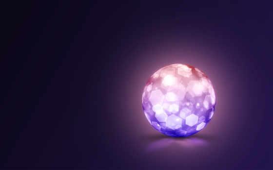 сфера, мяч, art, crystal, ячейки,