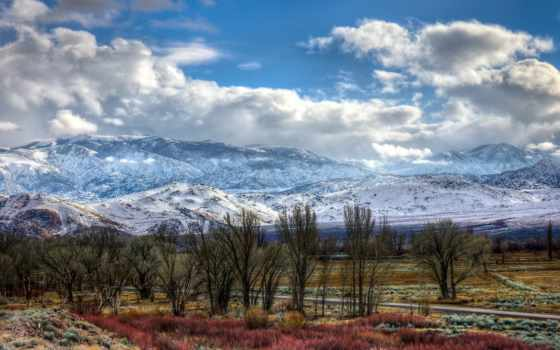 дорога, гора, landscape