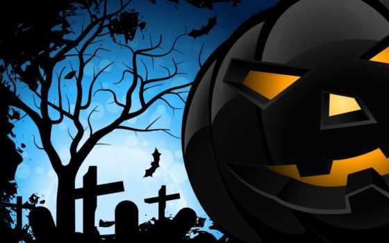 halloween, creepy, злой, bats, тыквы, pumpkins, scary, ужасный, летучих,
