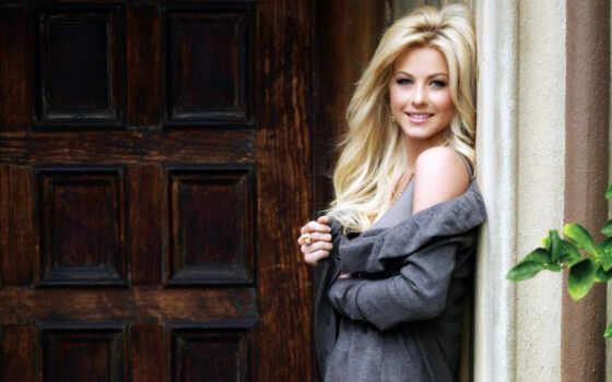 хаф, джулианна, stand, blonde, дверь, стиль, улыбка,