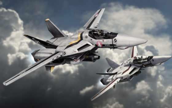 vf, macross, череп, valkyrie, squadron, hasegawa, шкала, kit, истребитель, robotech,