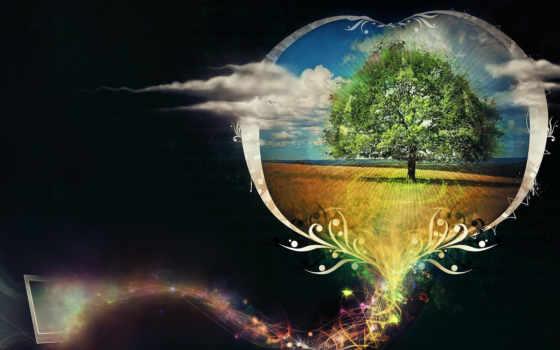 сердце, дерево