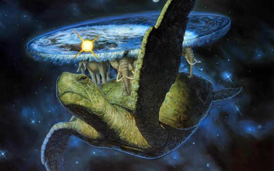 фантастические, качестве, монитора, живут, бессмертные, три, черепаха, инчжоу, где, ао, горы, фанчжан, пэнлай, версия, мифологии, лежат, которой, спине, море, плавающая, гигантская, world, carrying,