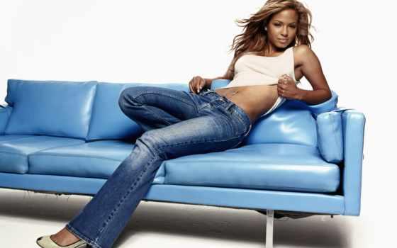 skin, джинсы, диван