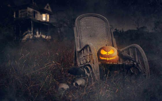 halloween, праздник, тыква, house, текстура,