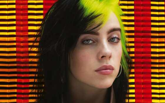 eilish, billie, bill, singer, vogue, hairstyle, американский, картинка, плакат, руб