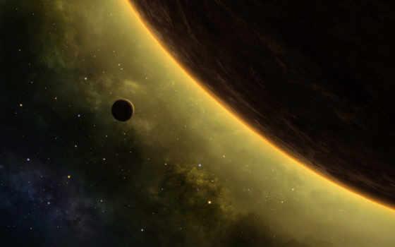 спутник и планета