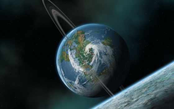 land, planet, cosmos, ринг, cosmic, фото
