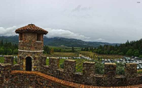 castello, ди, вино, amorosa, castle