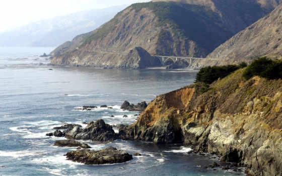 море, скалы, океан