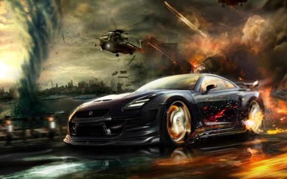 nissan, машины, красивые