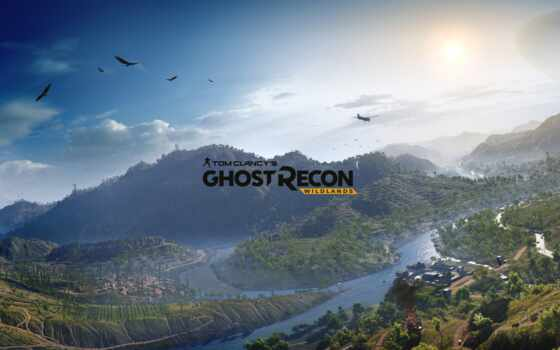 ghost, recon, wildlands, tom, clancy, ubisoft,