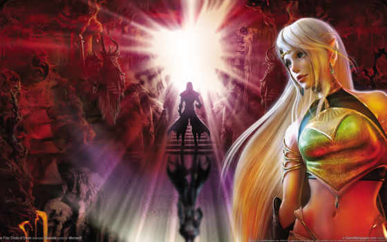 fantasy, битва, фэнтези, воин, дек, devushki, свет, девушка, world, monster, люди,