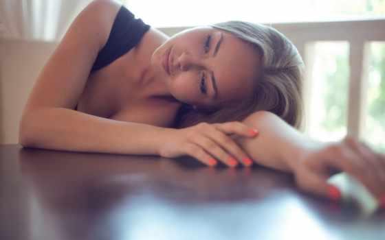 девушка, devushki, blonde, ногти, смотрит, dream, красивые, задремала, где, that, нравится,