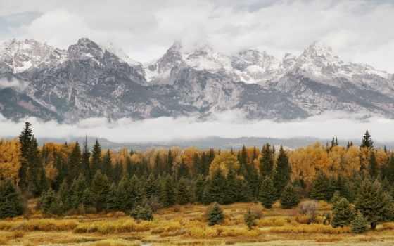 гранд, горы, ахтунг, grand, покрытые, шапками, безмолвные, сверкающих, титон, словно, они,
