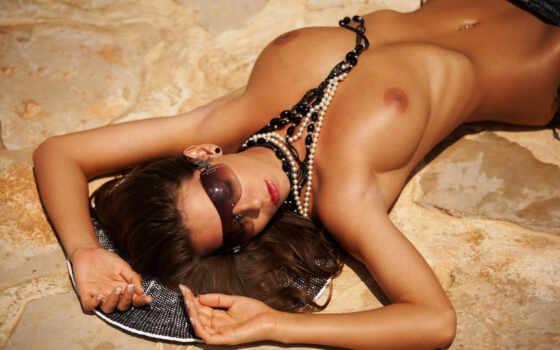 sexy, topless, пляж, девушка, sexyhd,