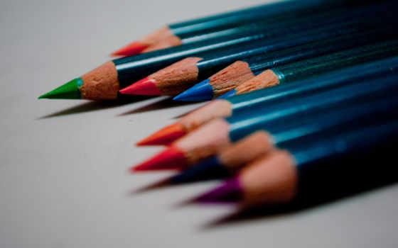 карандаши, fondos, iphone, цветные, бесплатные, макро, песочница, colores, color,