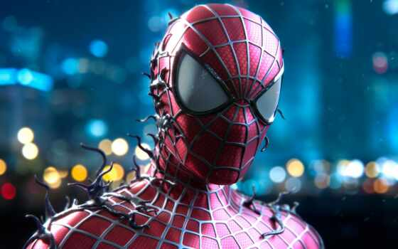 паук, мужчина, human, comics, marvet, amaze, плакат, заставка, teaser, герой