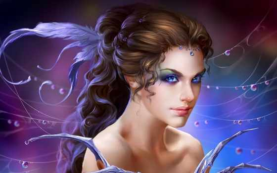 fantasy, art, girl