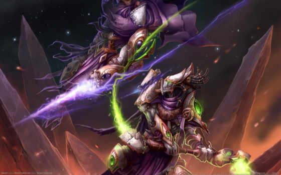 битва, starcraft, магия