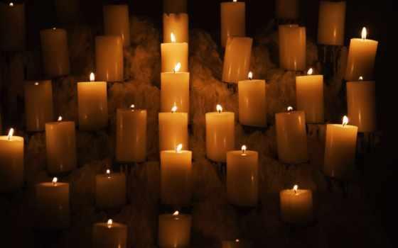 свеча, candles, свет