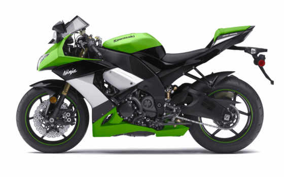 kawasaki, мотоцикл, ninja