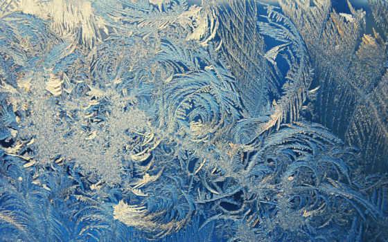 узоры, иней, glass, winter, макро, окно,