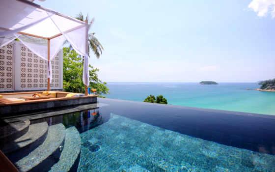 пхукет, villa, rentals, океана, берегу, villas, luxury, таиланд, resort, бассейном,