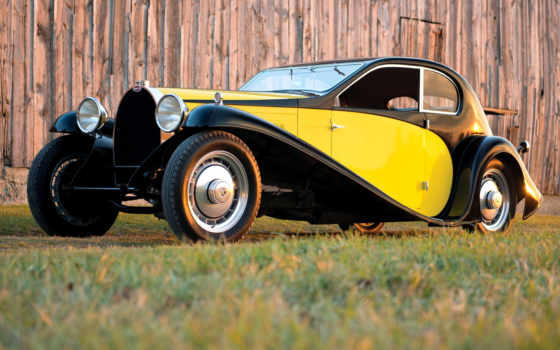 bugatti, вид, coupe, superprofilée, car, was, royale,