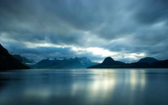 norwegian, норвегия, природа, горы, мере, ог, ромсдал, озеро, лес,