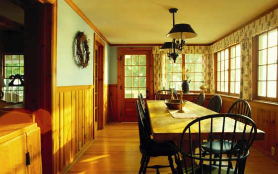 dining, комната, интерьер
