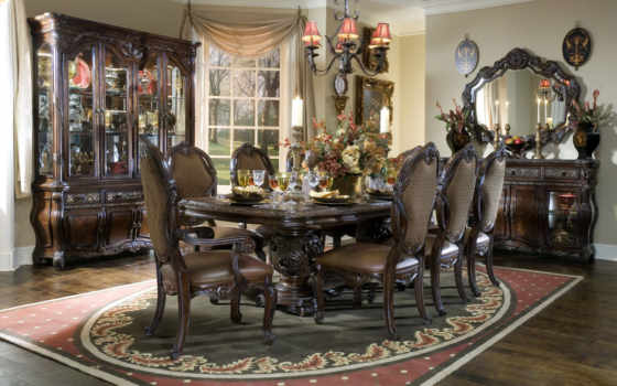 мебель, интерьер, мебели, картинка, столовой, kitchen, dining, design, стиль, интерьера,