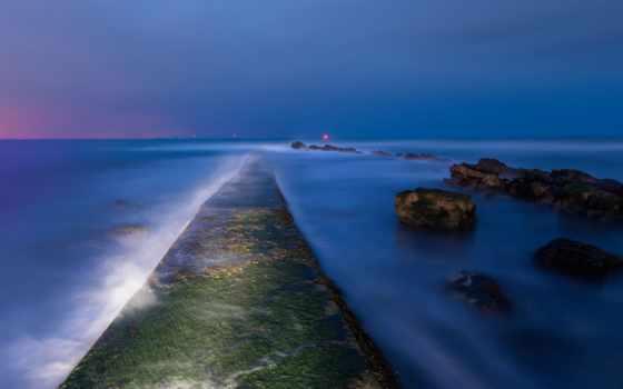 море, high, definition, wide, природа, город, нояб, bridges, мост,