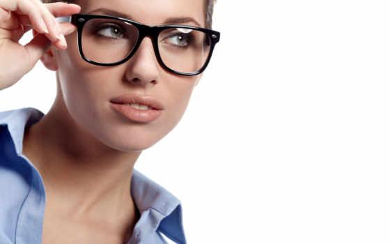 очки, люди, очках, зрения, женщин, умнее,