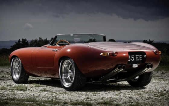 jaguar, вид, cabriolet, car, орлан, красивый, фото