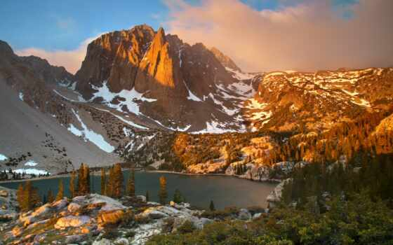 state, сша, гора, американский, биг, mount, площадь, природа, scenery