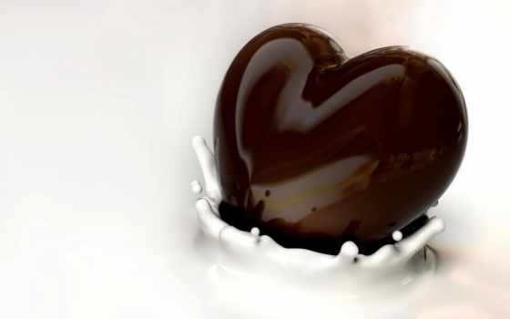 chocolate, молоко