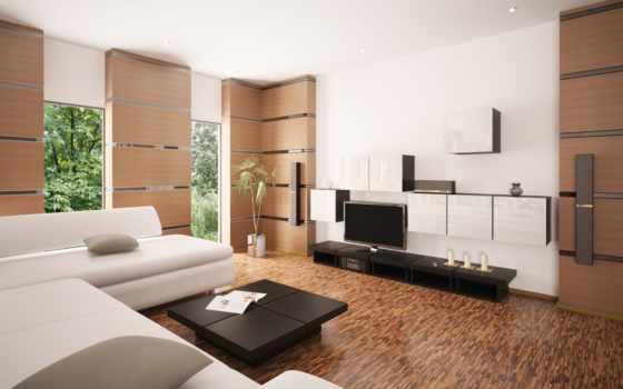 гостиной, дизайн, интерьера