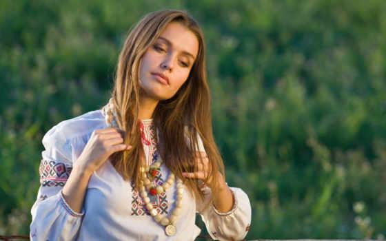 красавица, натуральная, девушек, славянских, июнь, devushki,