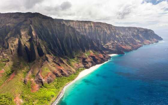 побережье, palus, state, park, hawaii, гора, napalus, wilderness