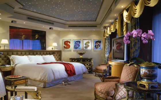 cavalieri, rome, ديكورات, suite, penthouse, hotel, waldorf, astoria, bedroom, das,